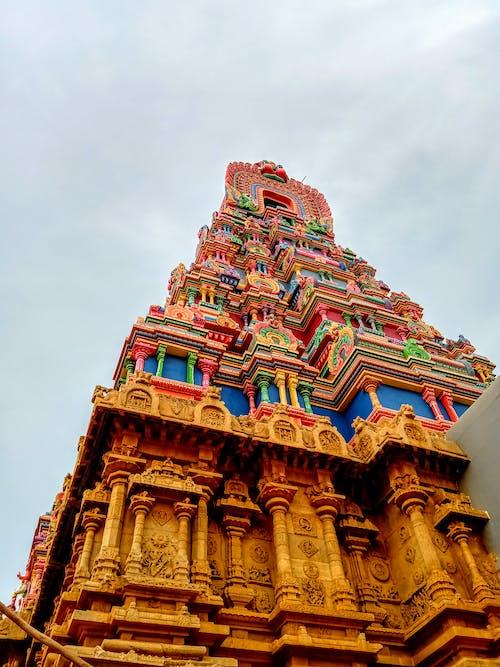 Kostenloses Stock Foto zu #mobilechallenge, indisches erbe, tempel