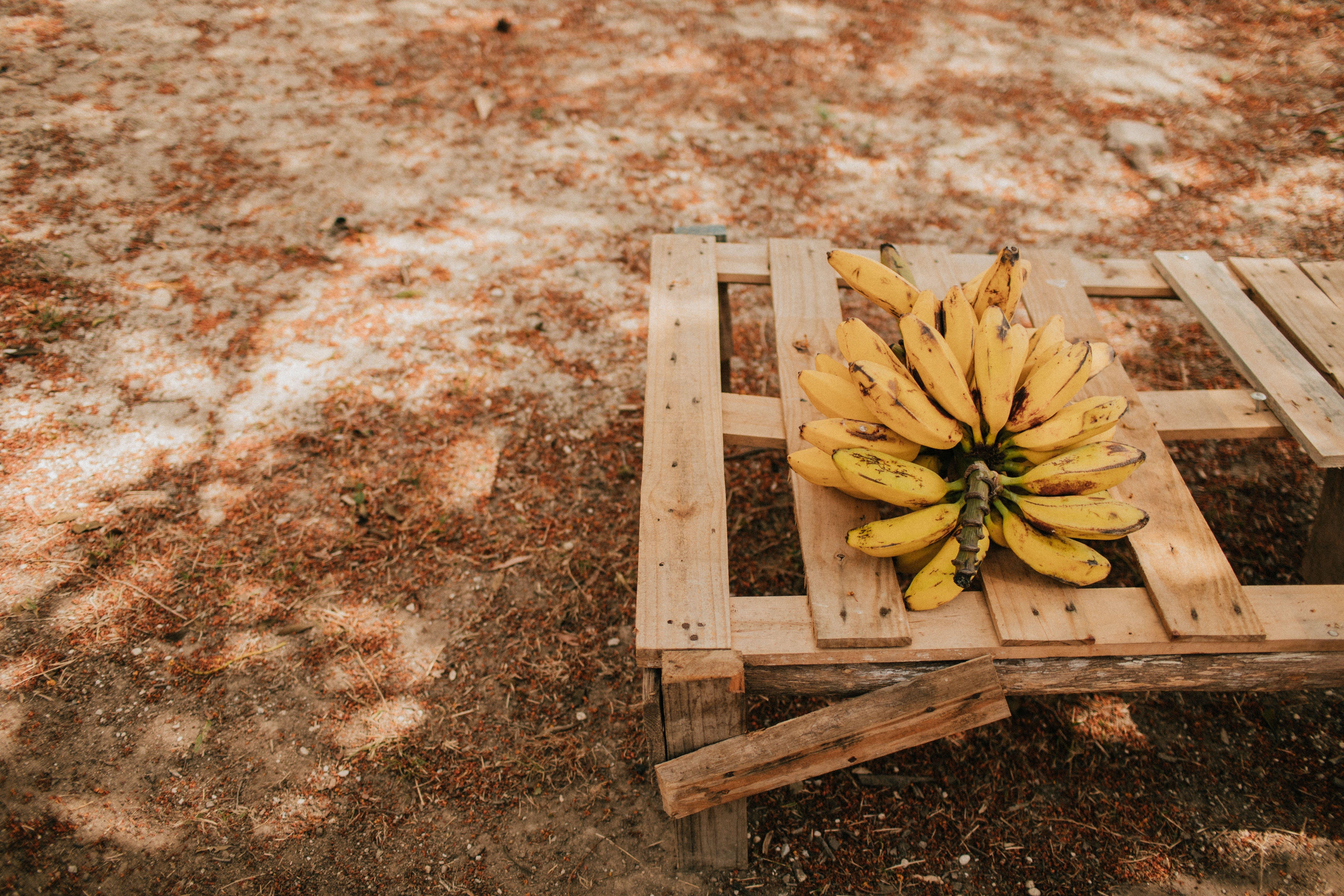 Bundle Of Ripe Banana