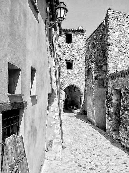 Free stock photo of black and white, italy, travel photography, village