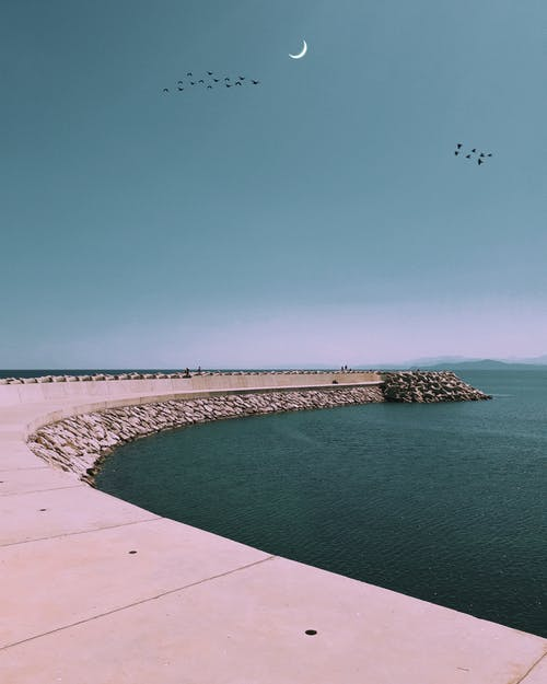 余暇, 海, 海洋, 空の無料の写真素材