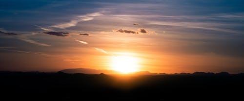 Ilmainen kuvapankkikuva tunnisteilla aavikko, auringonlasku, maisema, pilvet