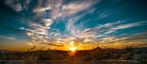 Ilmainen kuvapankkikuva tunnisteilla appelsiini, auringonlasku, kaunis maisema, maisema