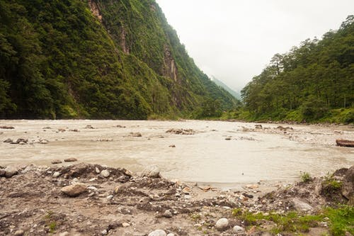 Free stock photo of india, river, sikkim
