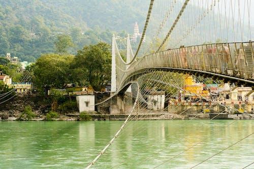 Free stock photo of bridge, Ganga, india, travel