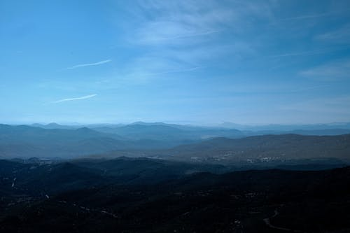 Безкоштовне стокове фото на тему «блюз, гірський хребет, гора, гори»