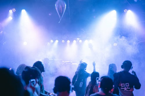 Foto profissional grátis de baile, clube, comemoração, dj