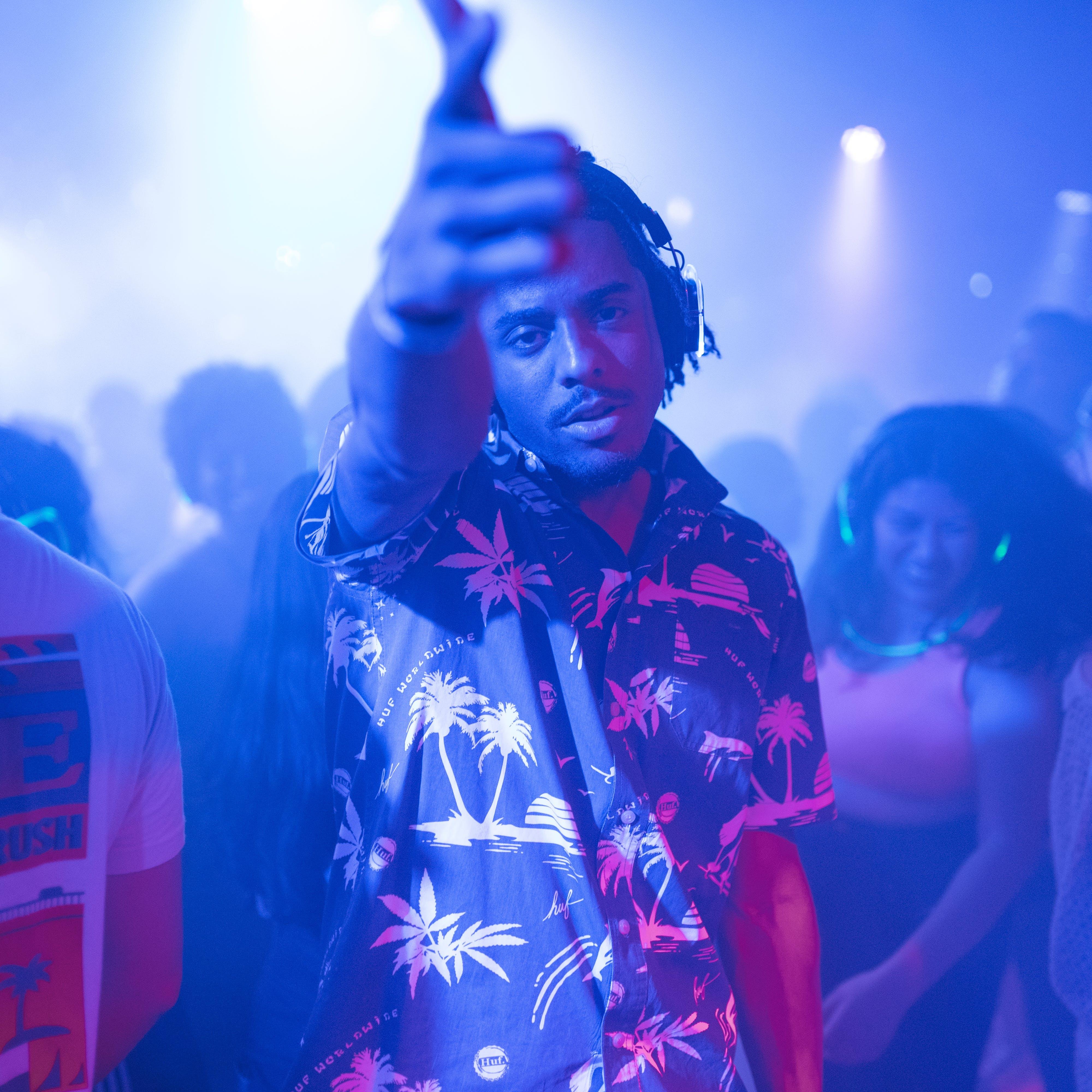 Kostenloses Stock Foto zu afroamerikaner, aufführung, band, beleuchtung