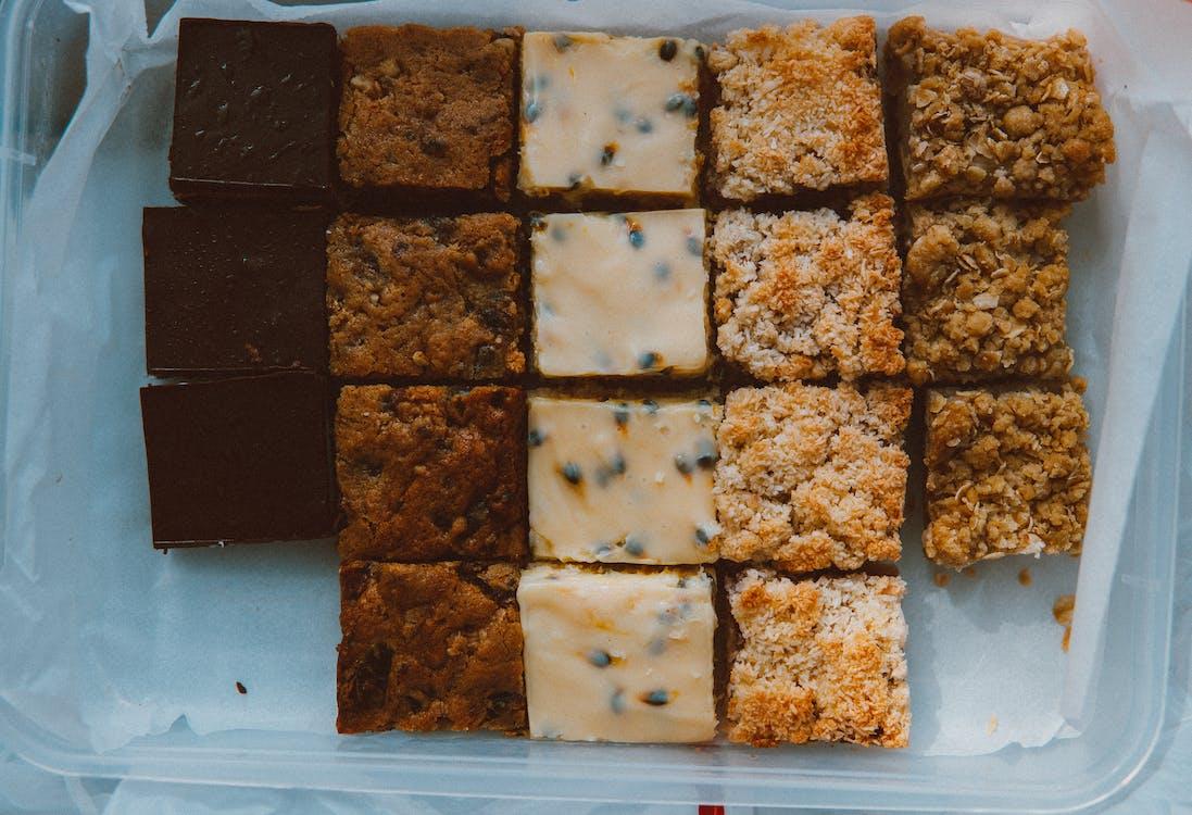 chutný, čokoláda, cukrársky výrobok