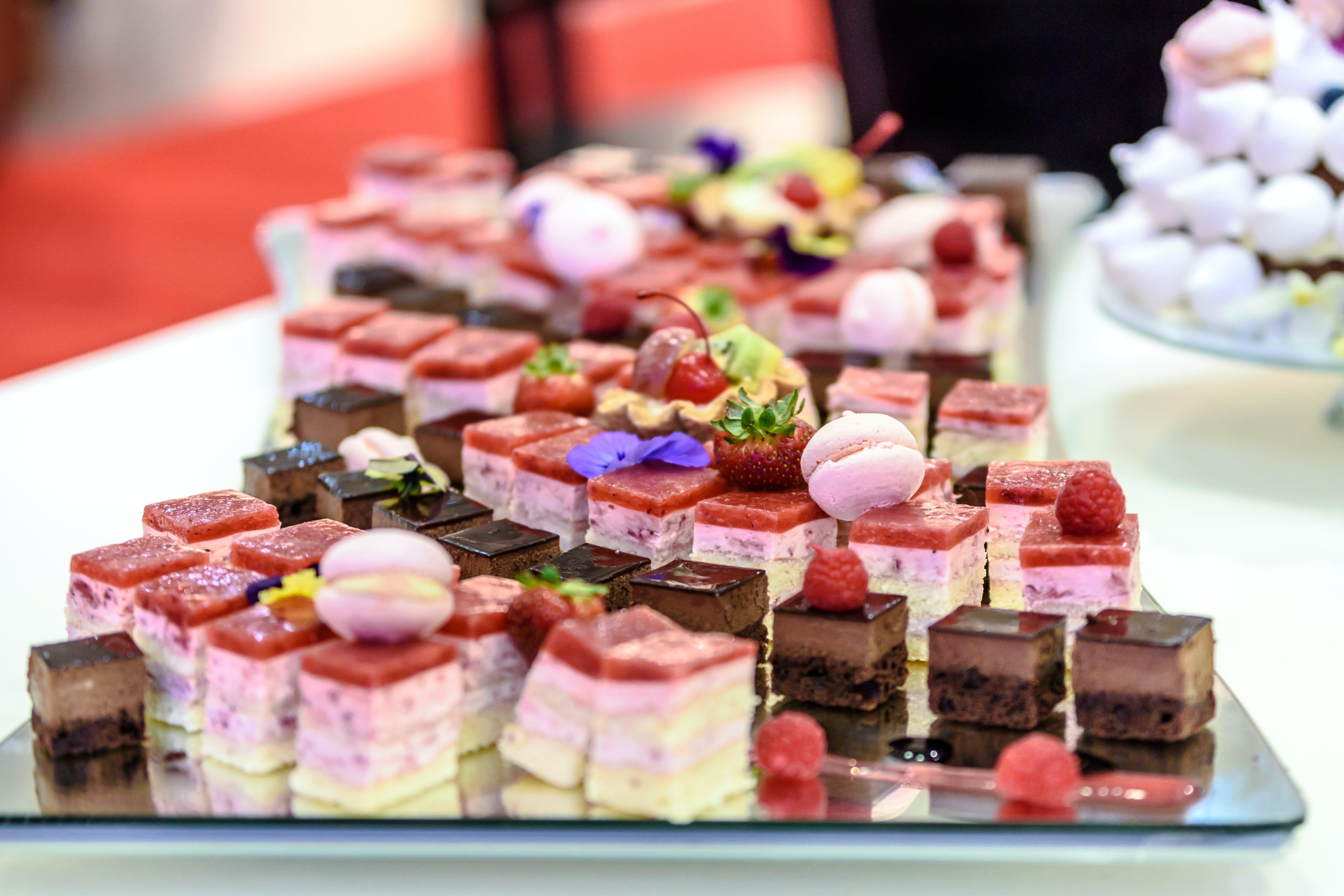 Kostnadsfri bild av mat, skärpedjup, sötsaker, tallrik
