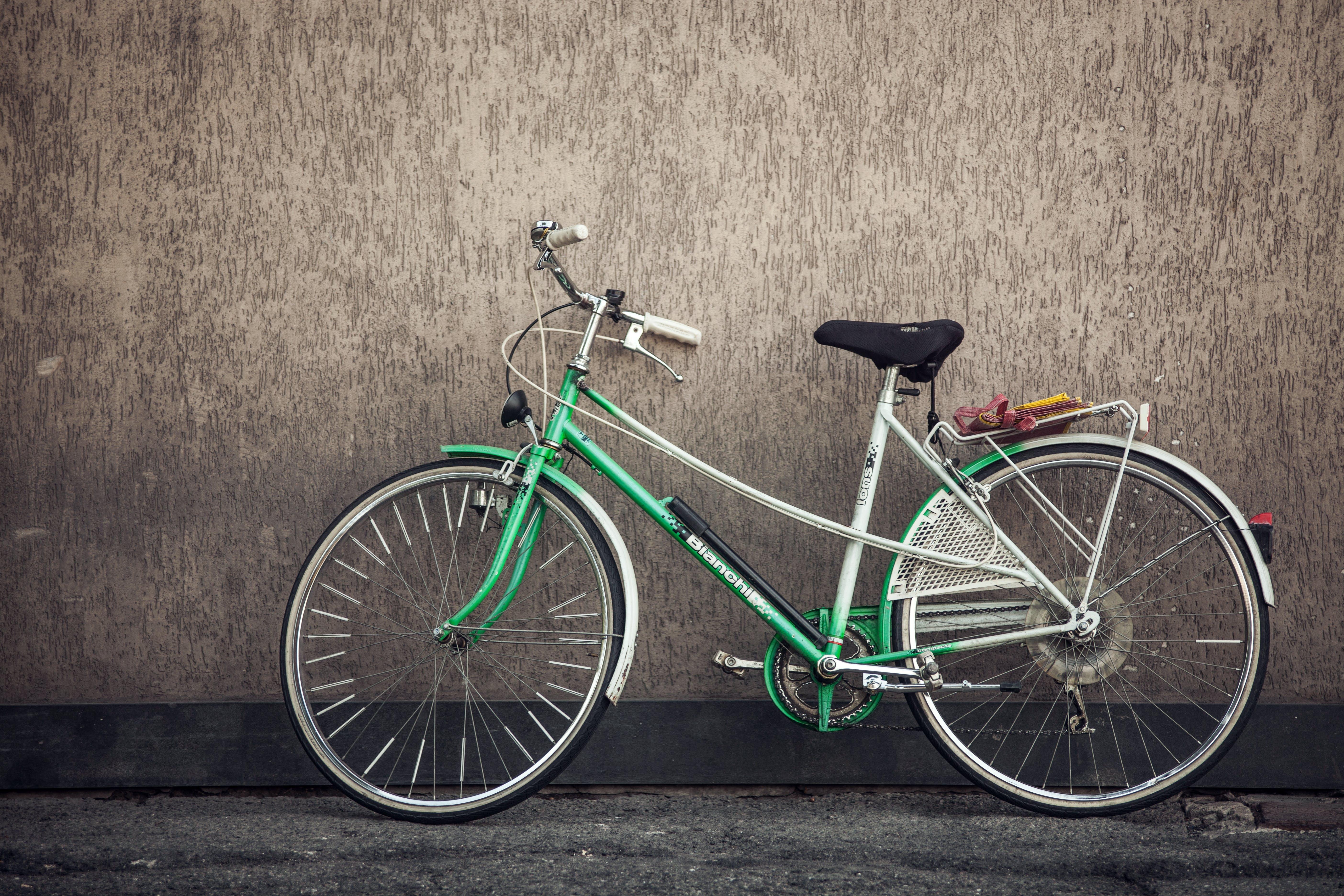 bicycle, eco, green