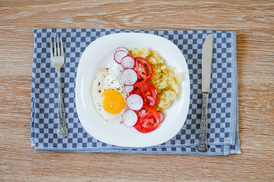 Egg With Vegetable Dish