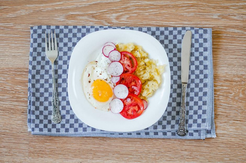 breakfast, cuisine, cutlery