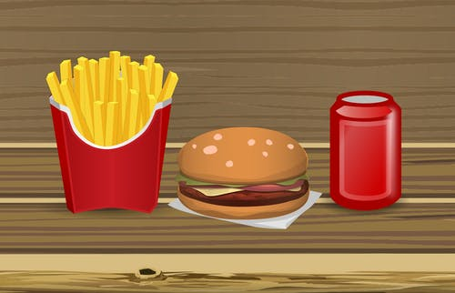 Free stock photo of beef, burger, cheeseburger, cola