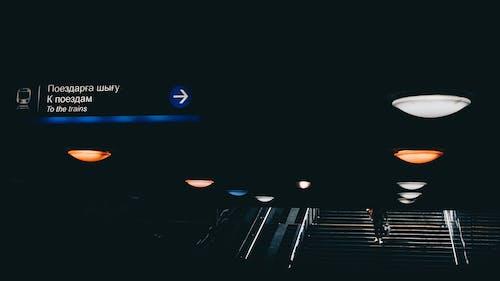 只是, 呎, 地鐵, 樓梯 的 免费素材照片