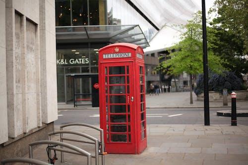 Fotobanka sbezplatnými fotkami na tému červená telefónna schránka, slávna pamiatka, slávny londýnsky telefón