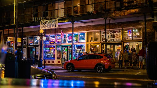 街, 霓虹燈 的 免费素材照片
