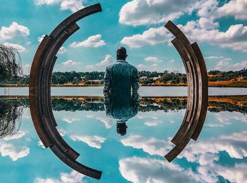 Безкоштовне стокове фото на тему «Photoshop, відпочинок, вид ззаду, вода»
