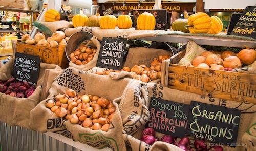 Foto d'estoc gratuïta de mercat de pagesos, vegetal d'arrel