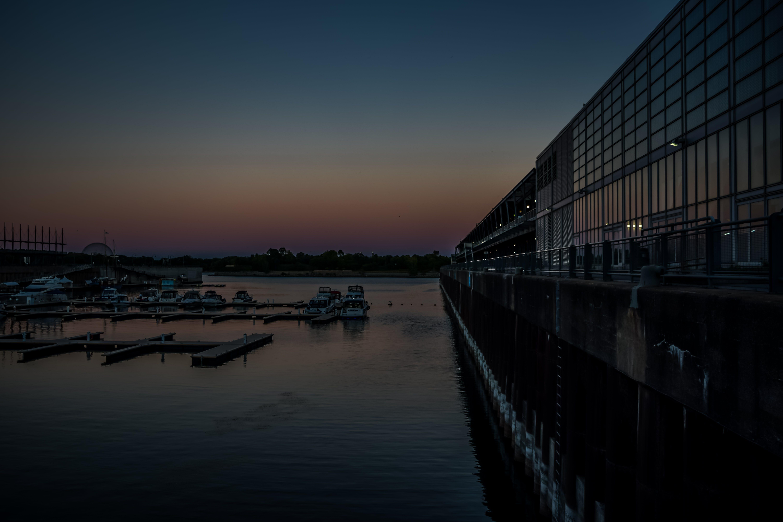 Gratis stockfoto met blauwe uur, canada, zonsondergang