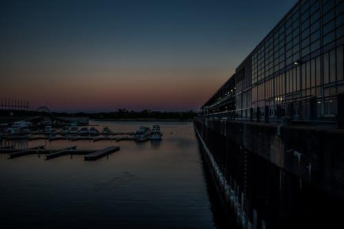 Ilmainen kuvapankkikuva tunnisteilla auringonlasku, Montreal, Sininen hetki