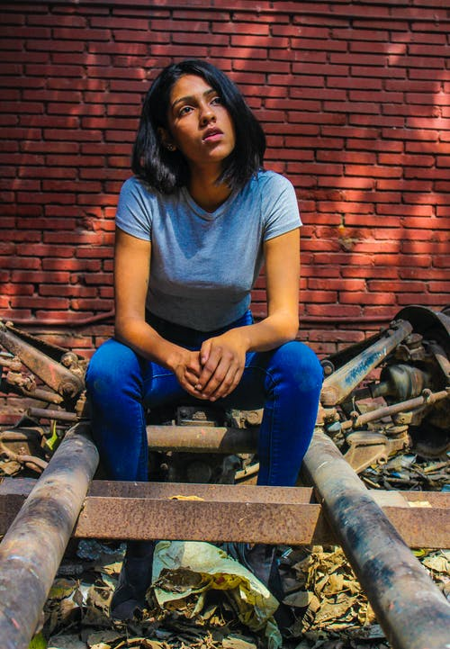 Foto d'estoc gratuïta de art, asiàtics, blau, fashionphoto