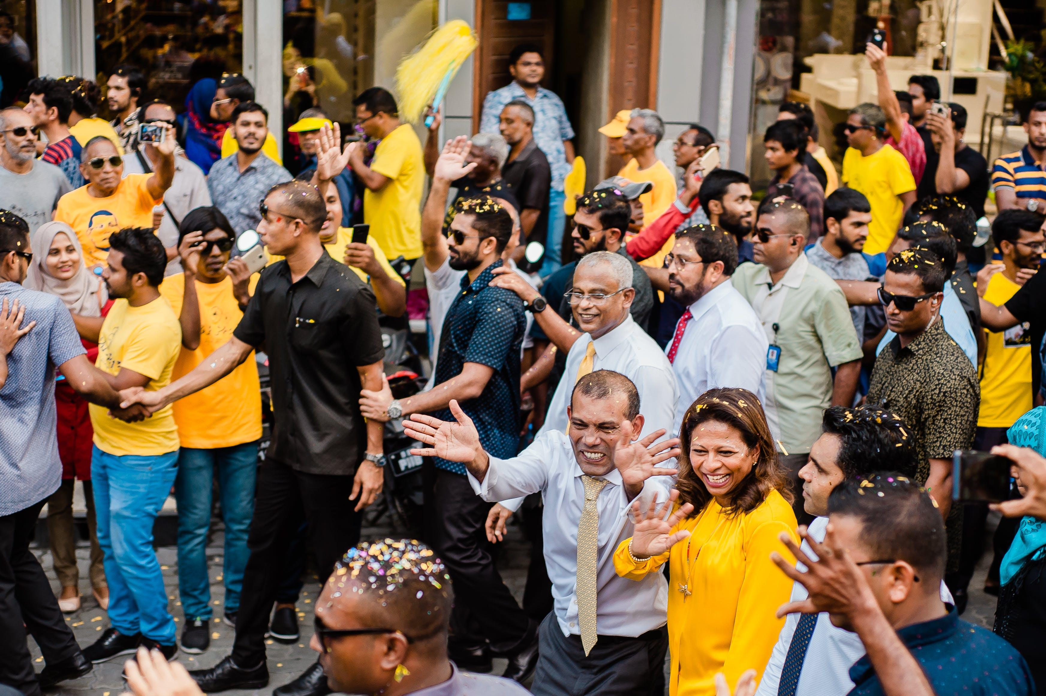 Základová fotografie zdarma na téma akce, dav, demokracie, demonstrace