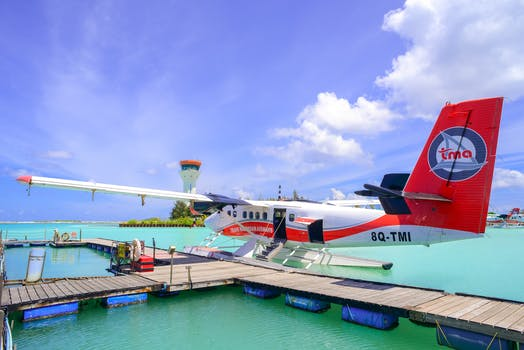 Arrive by seaplane