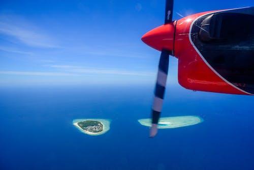 ada, araç, bulutlar, deniz içeren Ücretsiz stok fotoğraf