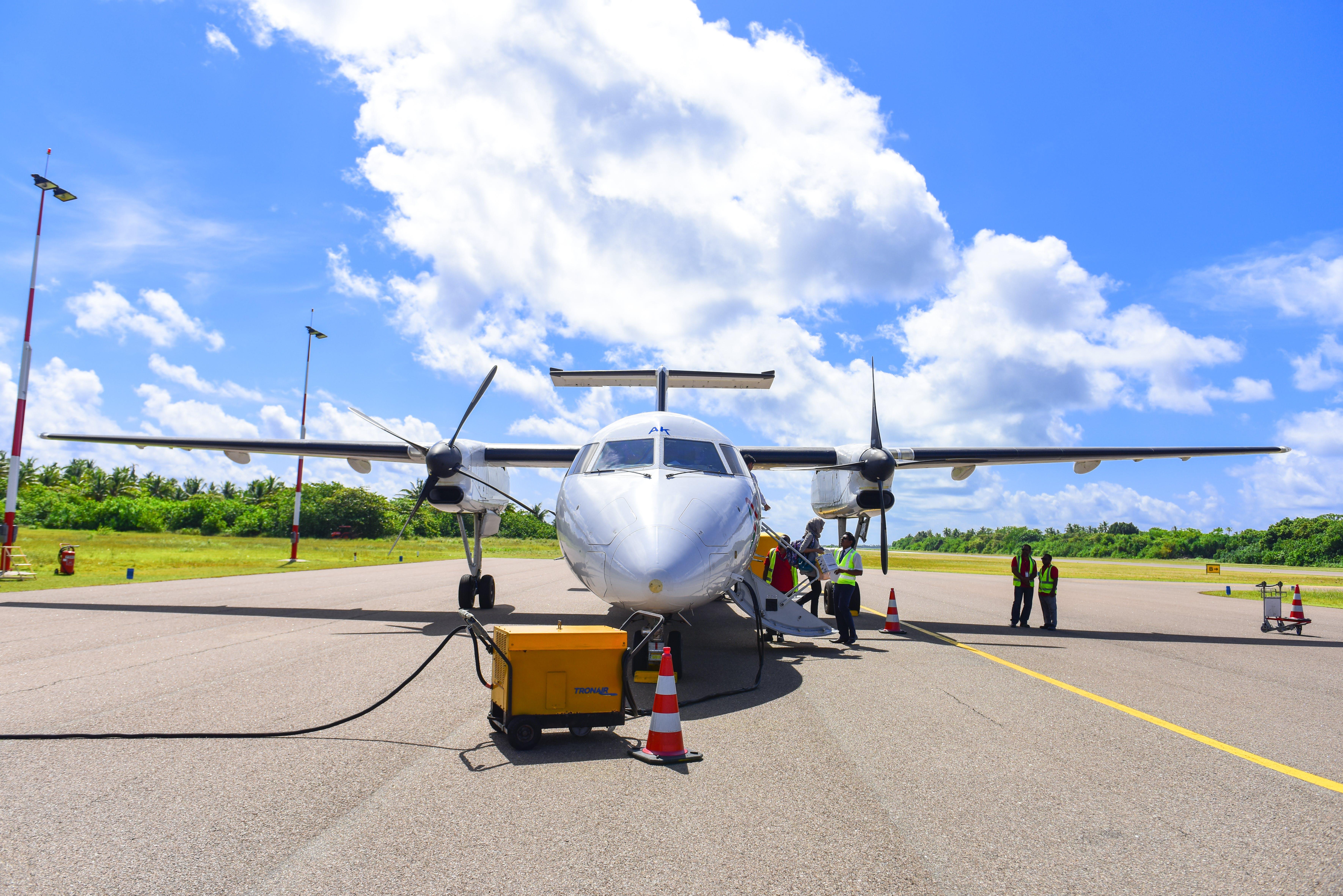 Δωρεάν στοκ φωτογραφιών με trans maldivian, αεροδιάδρομος, αεροδρόμιο, αεροπλάνο