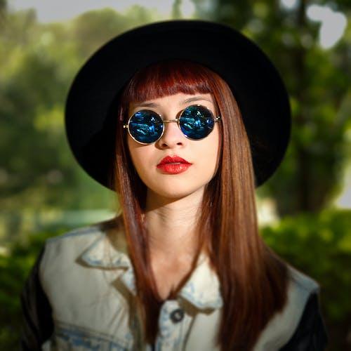 Imagine de stoc gratuită din brunetă, buze roșii, femeie, femeie frumoasă