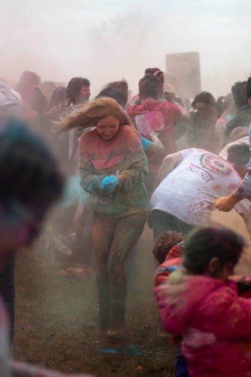 Imagine de stoc gratuită din asiatic, concert, copii, culori