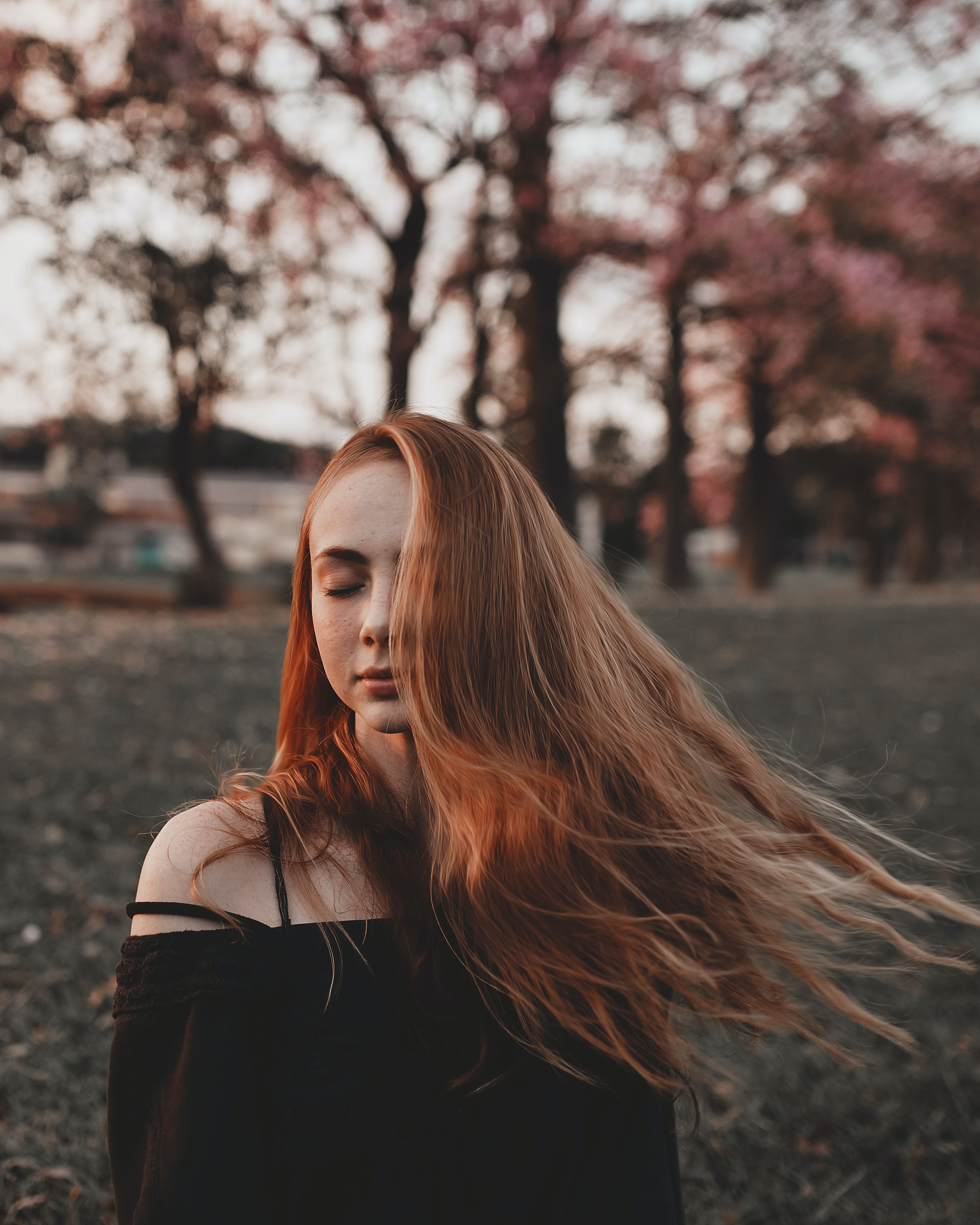 Photo of Woman Closing Her Eyes