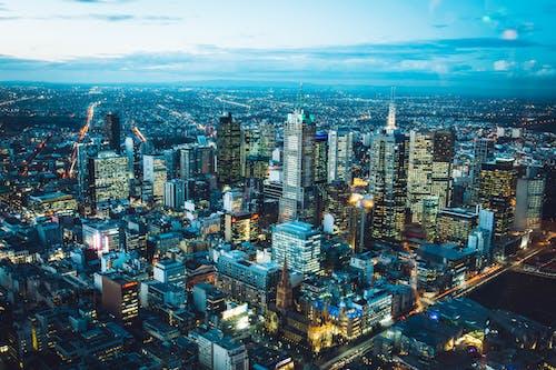 Chụp ảnh Từ Trên Không Về Các Tòa Nhà Bê Tông