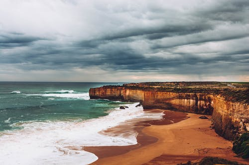 Vách đá Gần Bãi Biển