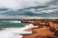 Cliff Near Beach