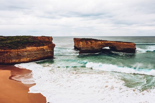 Gratis lagerfoto af bølger, havudsigt, horisont, idyllisk