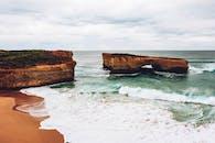 Brown Coastal Stack