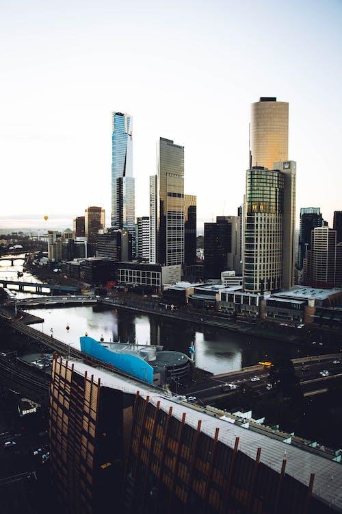 城市, 塔, 天際線, 市容 的 免费素材照片