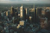 Bird's Eye View Of City
