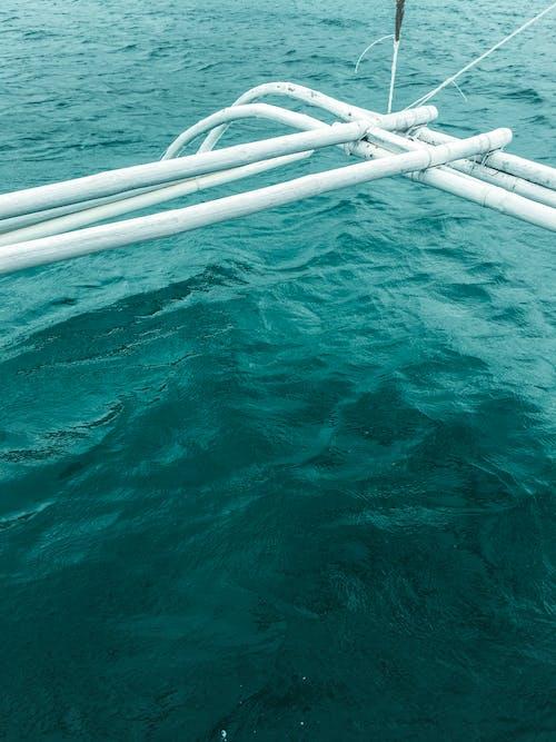 在海邊, 船, 藍色 的 免費圖庫相片