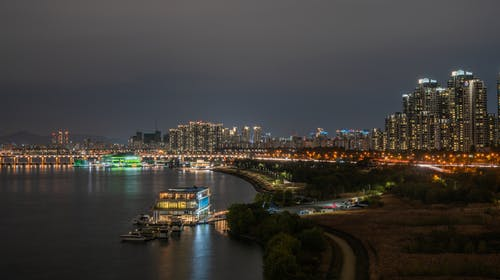 Fotobanka sbezplatnými fotkami na tému Ázia, cestovať, dlhá expozícia, han rieka