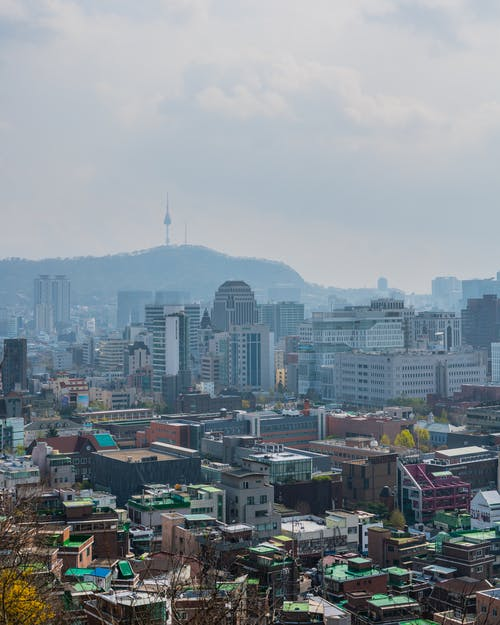Foto stok gratis bangunan, cityscape, Korea, Korea Selatan