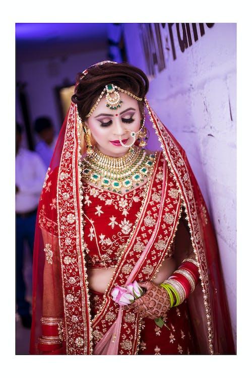 Free stock photo of beautiful girls, bridal in delhi, bride