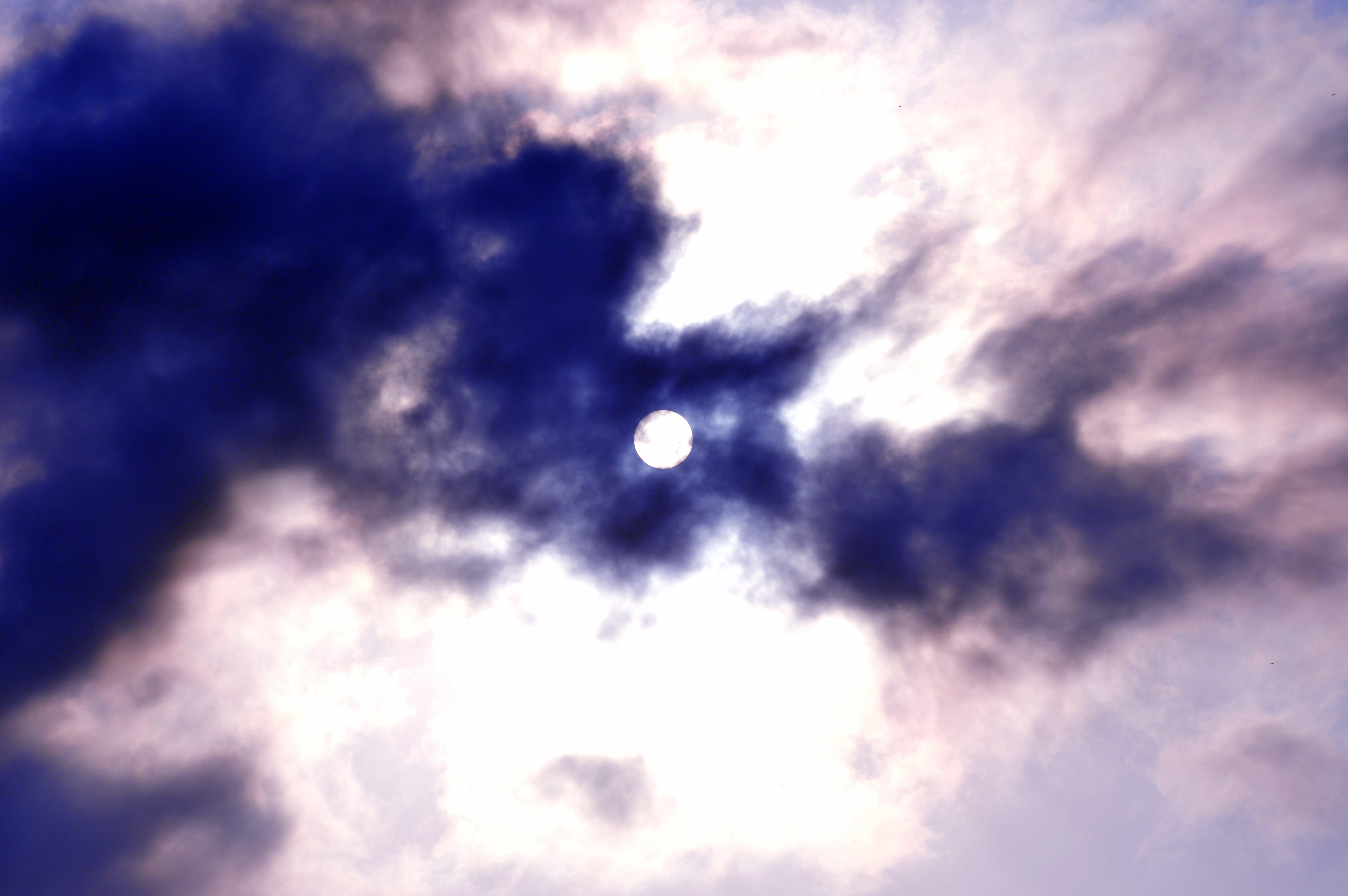 Δωρεάν στοκ φωτογραφιών με background, ήλιος, καλύπτονται από τον ήλιο, σύννεφα