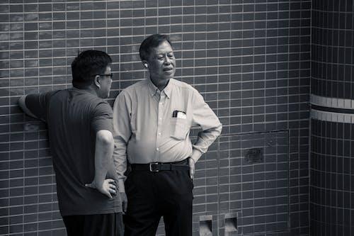 Gratis stockfoto met Aziatische mensen, babbelen, bedrijf, binnen