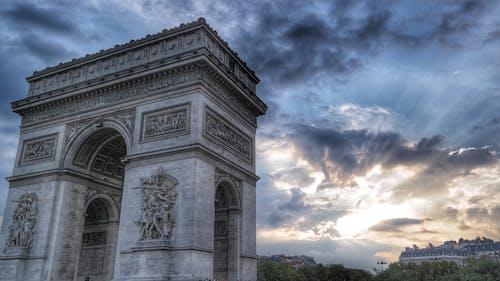 Imagine de stoc gratuită din arc, Arc de Triumf, arcadă, arhitectură