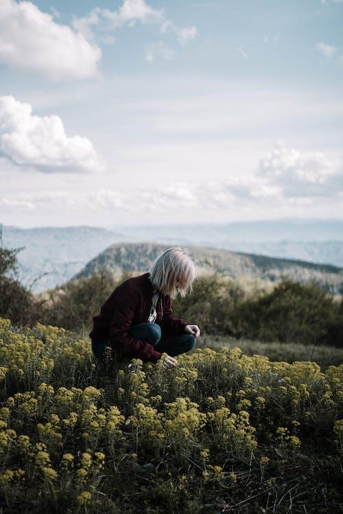 Základová fotografie zdarma na téma cestování, denní světlo, holka, hřiště
