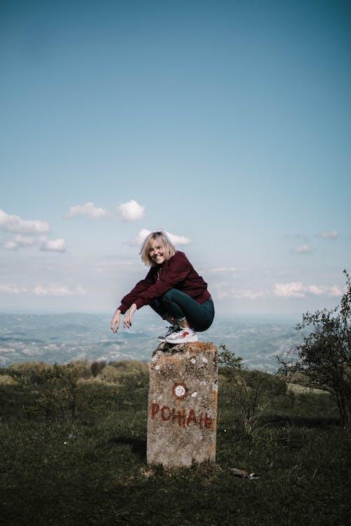 Základová fotografie zdarma na téma dobrodružství, krajina, pohled, pózování