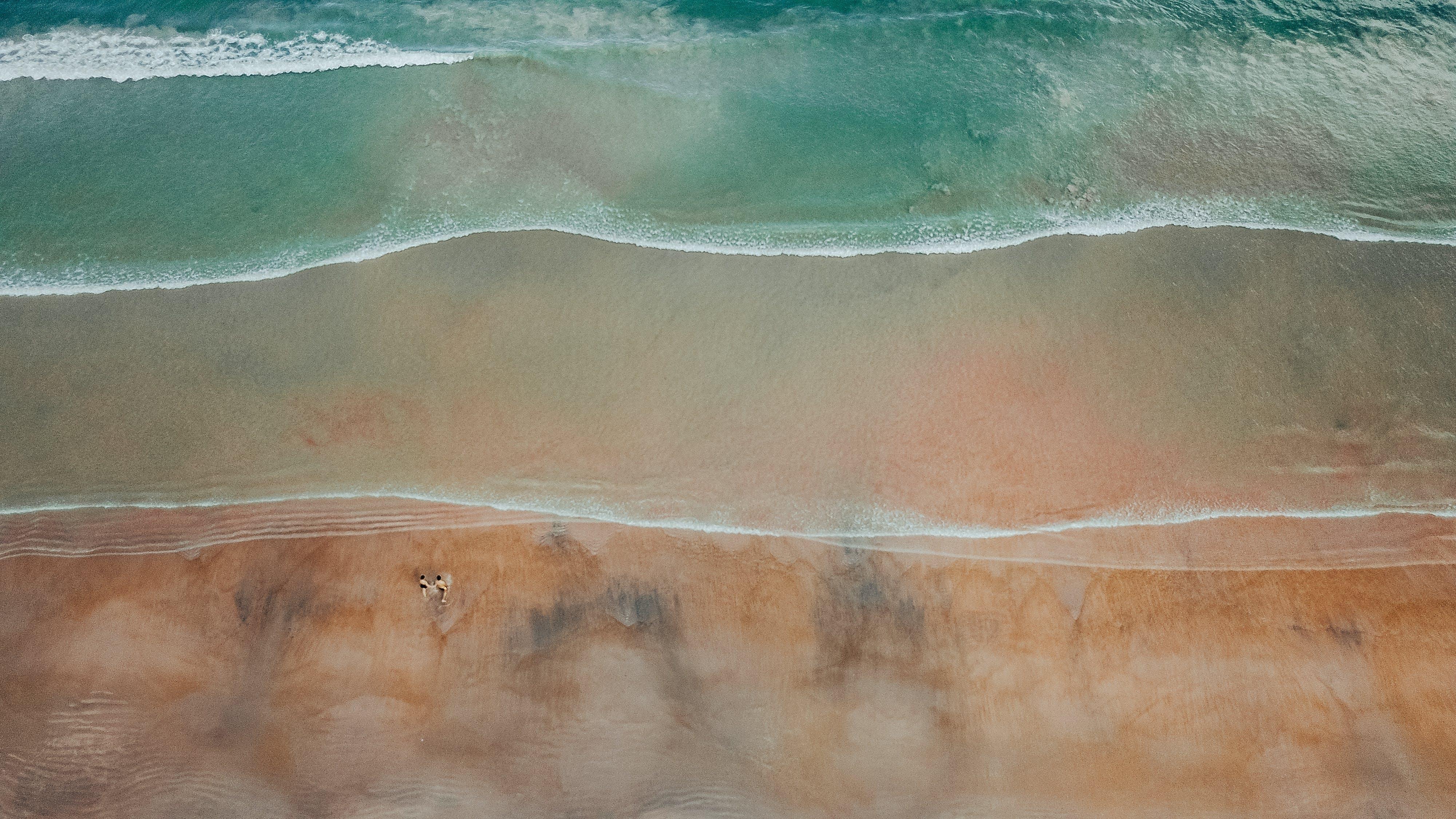 boyama, dalgalar, deniz, deniz kıyısı içeren Ücretsiz stok fotoğraf