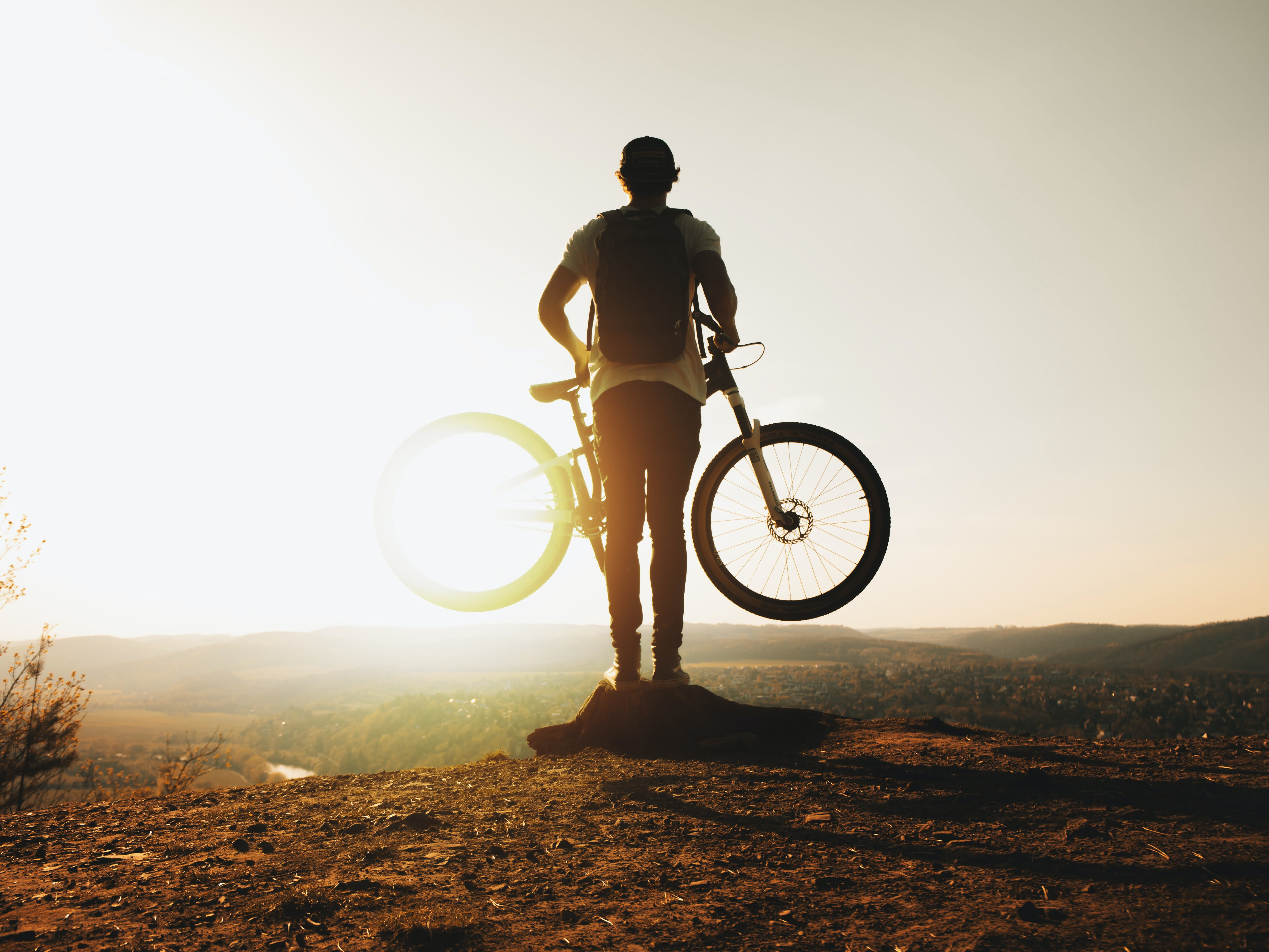 Immagine gratuita di avventura, bicicletta, ciclista, mountain bike